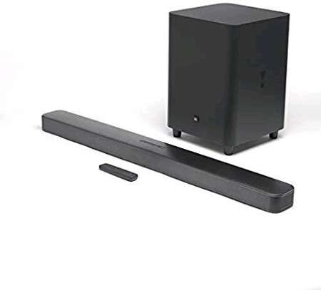 JBL Bar 5.1 Soundbar with Built-in Virtual Surround, 4K and 10 Wireless Subwoofer (2019 Model) image 1