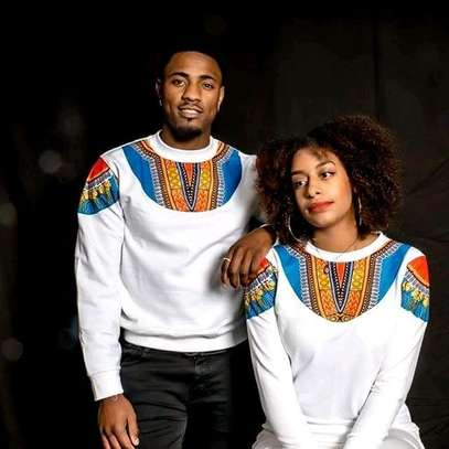 Ankara African Couple Outfit image 7