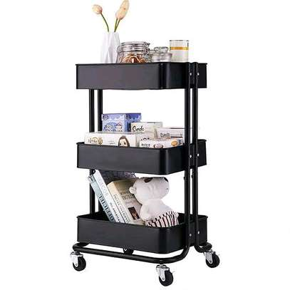 Movable kitchen trolley image 1