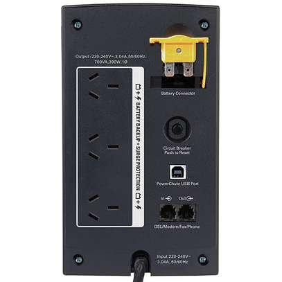 Apc Battery Back Up 700VA/ 390 Watts image 1