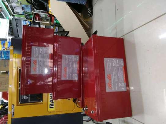 Rolls 200ah/12v/24hrs battery image 1