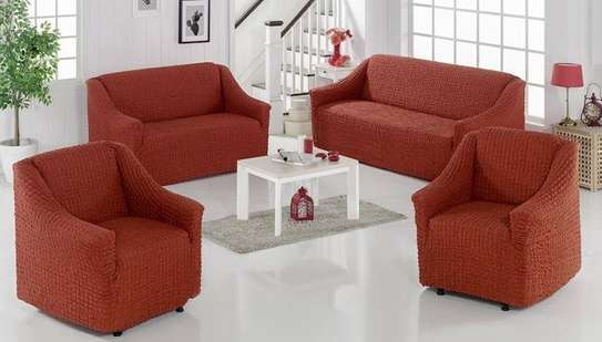 sofa covers stretchable 5 sitter image 1
