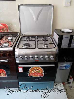 Von Hotpoint Cooker 55*57cm, 4 Gas + Electric Oven image 1