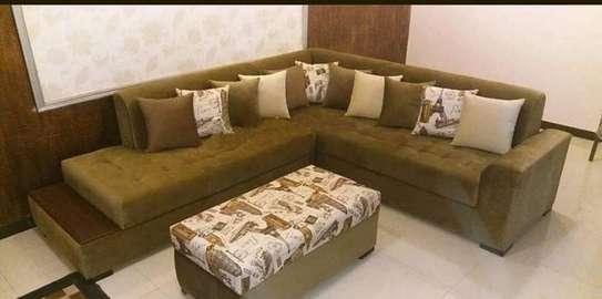 6 seater premium corner sofa image 1