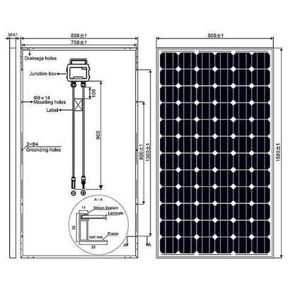 Solarmax 150Watts Solar Panel all weather image 3