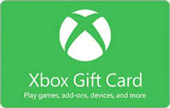 XBOX LIVE GIFT CARDS image 1