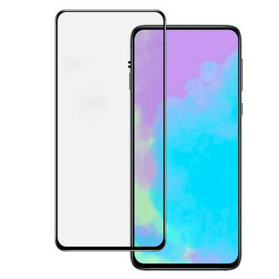 5D HD Clear Tempered Glass Front Screen Protector for Samsung A80 image 2