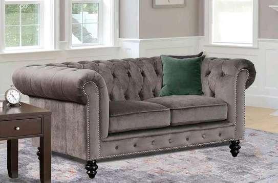 Classic sofas for sale in Nairobi Kenya/tufted sofas/Two seater grey sofas/modern sofas for sale in Nairobi Kenya image 1