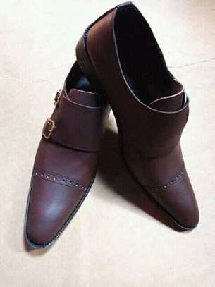 Brown Leather Shoes image 1