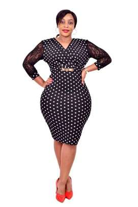 Ladies dotted dresses image 1