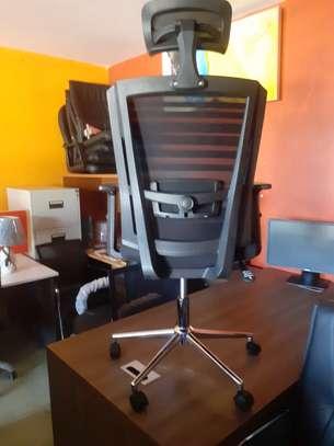 Orthopedic Mesh Chairs With Tilt Mechanism, Adjustable Arms & Adjustable Headrest image 4