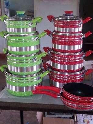 Non stick pots image 1