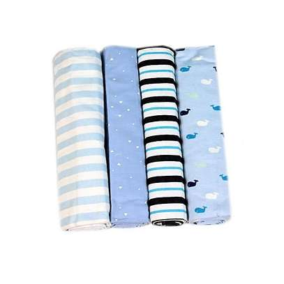 Cotton Flannel Receiving Blankets(set of 4) image 2