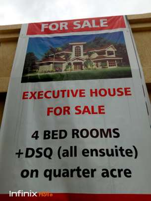 Executive 4 bedroom with dsq all ensuite for sale