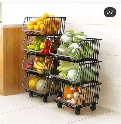 4-tier vegetables rack image 2
