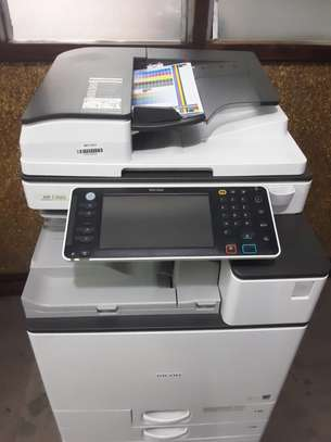 RICOH MPC3503 MOST REASONABLE HIGH SPEED FULL COLOR PHOTOCOPIER/PRINTER/SCANNER WITH FREE EXTRA TONER SET image 2
