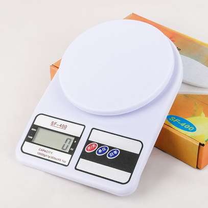 Digital Electronic kitchen 10 Kg weighing scale machine white one size image 1