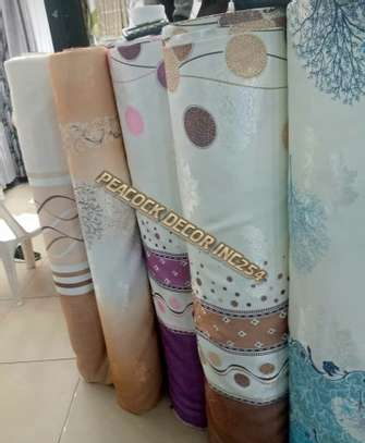 Elegant printed curtains and sheers image 9