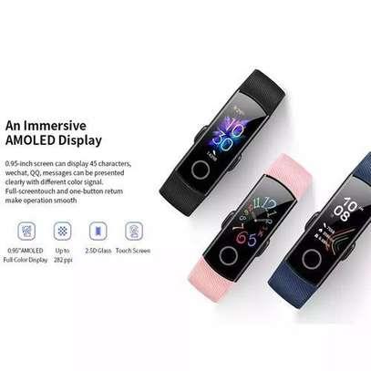 Huawei Honor Band 5 Smart Watch 50M Waterproof-Black image 4