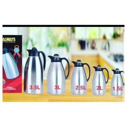 Always Vacuum Thermos Flask - Stainless Steel image 1
