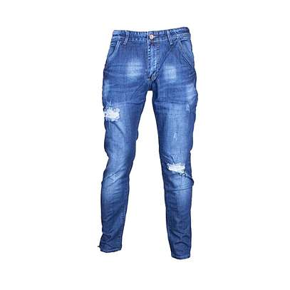 Male Fashionable Rugged pair of Jeans image 1