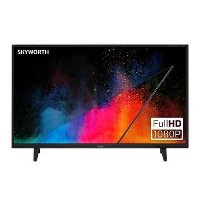 Skyworth- 43'' - Smart FHD Android LED Frameless TV - Black image 1