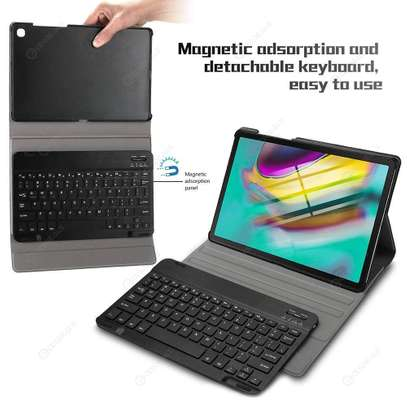Bluetooth keyboard Protective Cover PU Leather Case For Samsung Galaxy Tab S5E SM-T720 T725 10.5 inches image 7