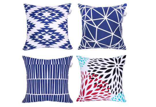 Decorative Unique Throw Pillow Case Cushion Covers a set of 4 pieces at Ksh. 3200 image 5