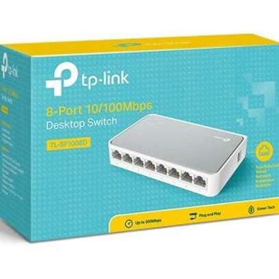 TP-Link 8 Port 10/100mbps desktop Switch (TL-SF1008D) image 1