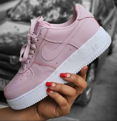 Nike Airforce 1 pink. image 1