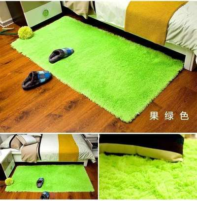 LUXURIOUS BED SIDE FLUFFY CARPET image 1