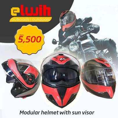 Modular Motorcycle Helmet | Elwih image 1