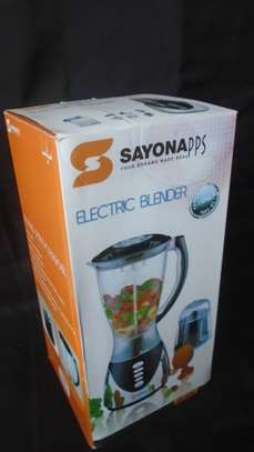 2 in 1 Blender with Grinding Machine 1.5L SAYONA image 1
