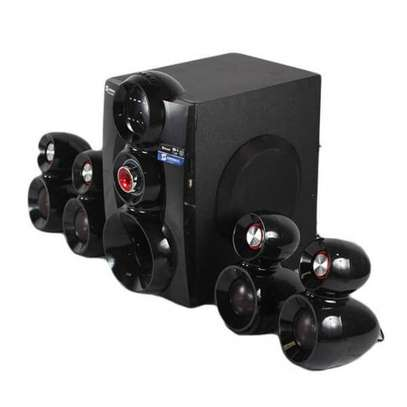 Sayona 1148BT - 4.1Ch Subwoofer - 16,000W PMPO - Bluetooth/USB/FM image 1