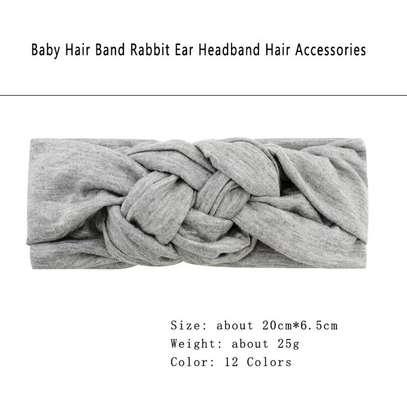 Baby Girl Stretchy Infinity Headwear Hat Headband image 4
