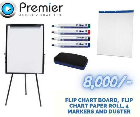 Sale package for a flip chart board image 1