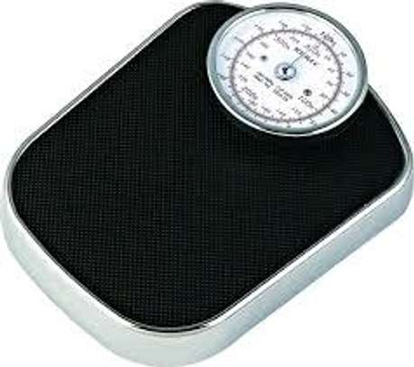Height and weight mechanical scale image 2
