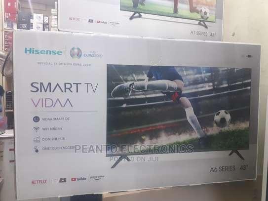 Hisense 43A6000F 43'' Smart Full HD Frameless LED TV image 1