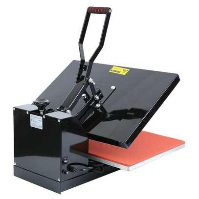 1600W Clamshell Heat Press Transfer T-Shirt Sublimation Machine Ridgeyard image 2