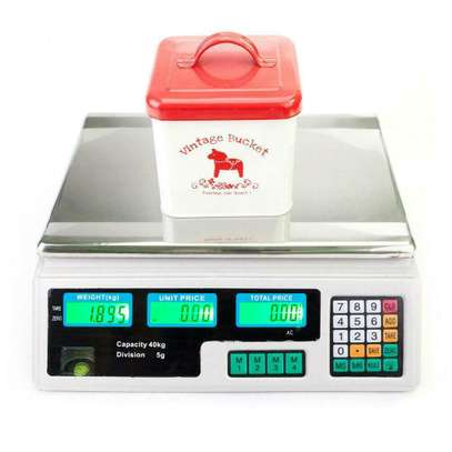 30kg Digital Fruit Scales Electronic Veg Commercial Shop Retail Price & Weighing image 3