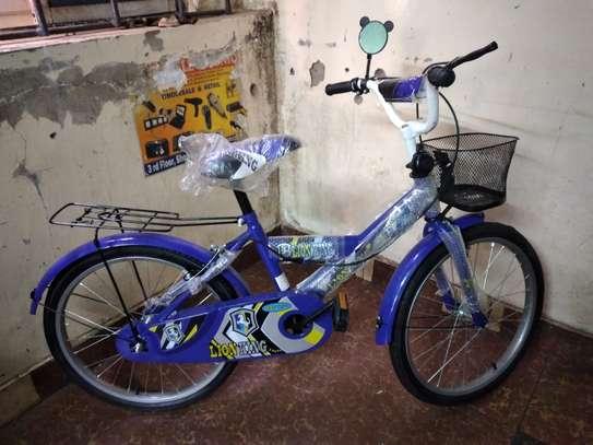 20inch blue lionking kids bike image 1