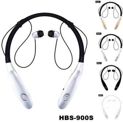 High quality neck Bluetooth Earphone headset image 2