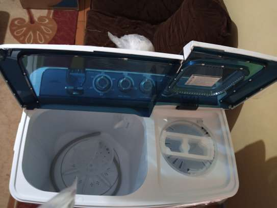 Ramtons twin tub washing machine 10kg RW/116 image 1