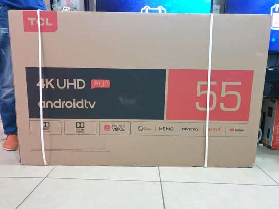 TCL 55 C8 SMART ANDROID 4K image 1