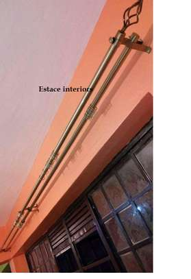 Flower-ended- curtain rods image 2
