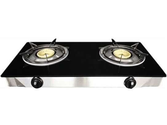 Glass Double Burner image 1
