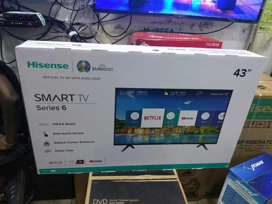 Hisense 43 inches 43B6000PW NEW SERIES 6  SPECIAL OFFER +Free wall bracket image 2