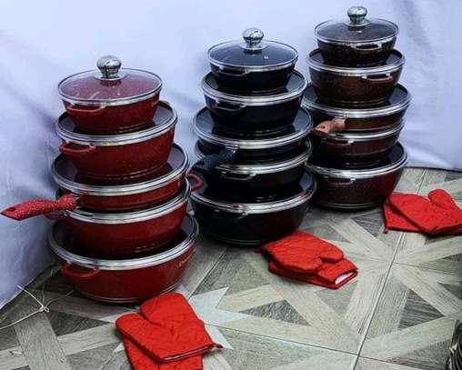 12 pieces new dessini nonstick cookware image 1
