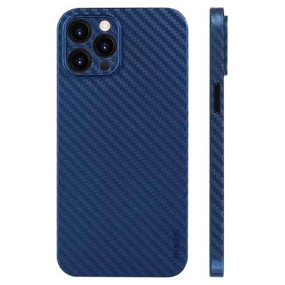 Memumi iPhone 12 Pro Max Carbon fiber Case image 1