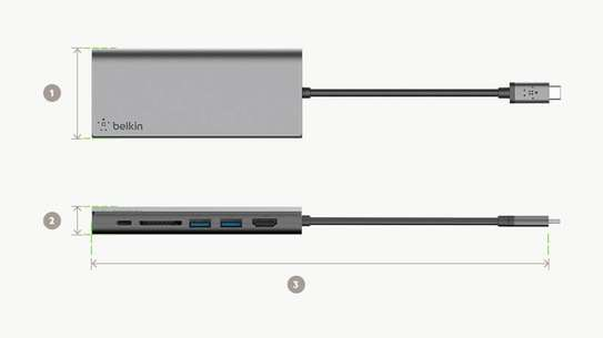 Belkin USB-C Multimedia Hub image 3